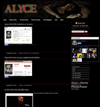 Alyce-Website
